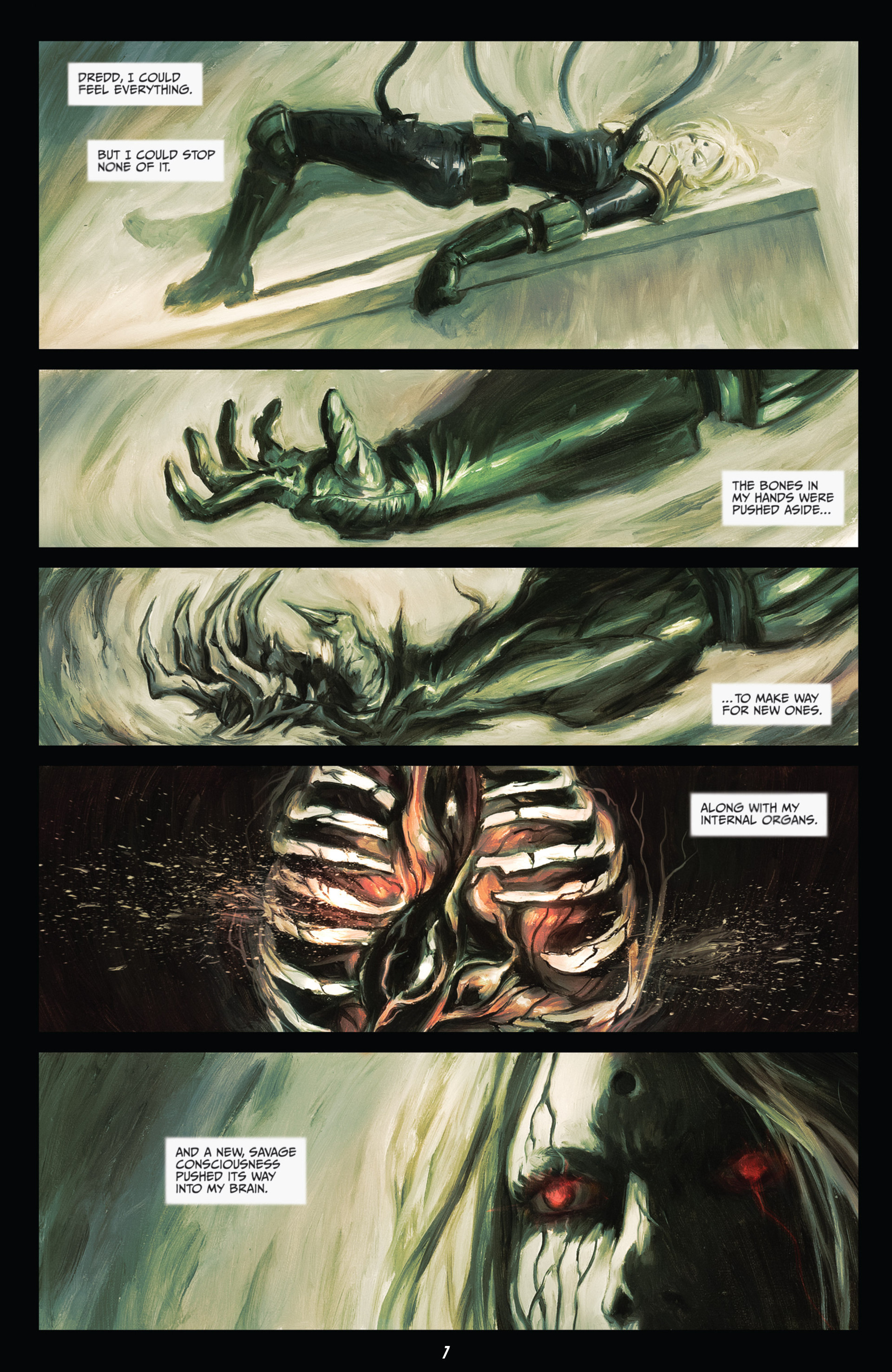 Read online Judge Dredd (2012) comic -  Issue #21 - 9