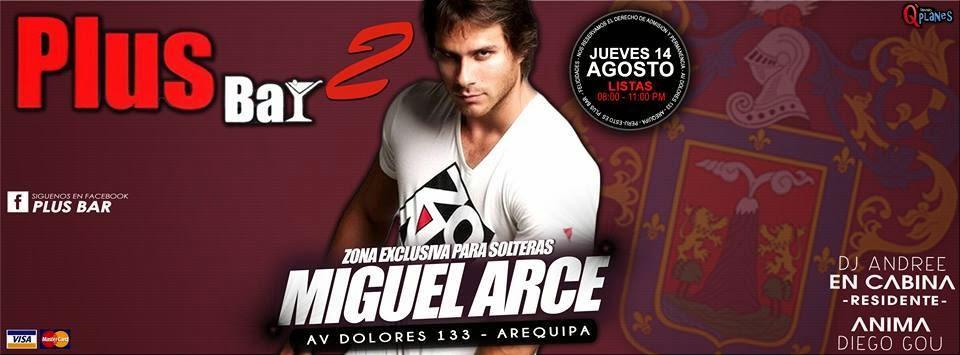 Miguel Arce en Arequipa