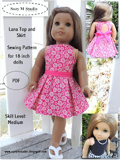 Lana Top and Skirt PDF 5.00