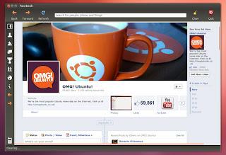 Instalar Facebook en Ubuntu, facebook en ubuntu, usar Facebook como una aplicacion en ubuntu