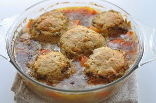 Chicken Stew with Herby Dumplings ~ Simple Food