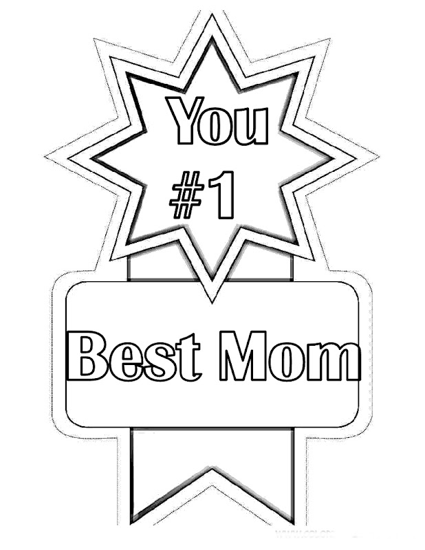 Mothers Day Coloring Pages For Preschool title=