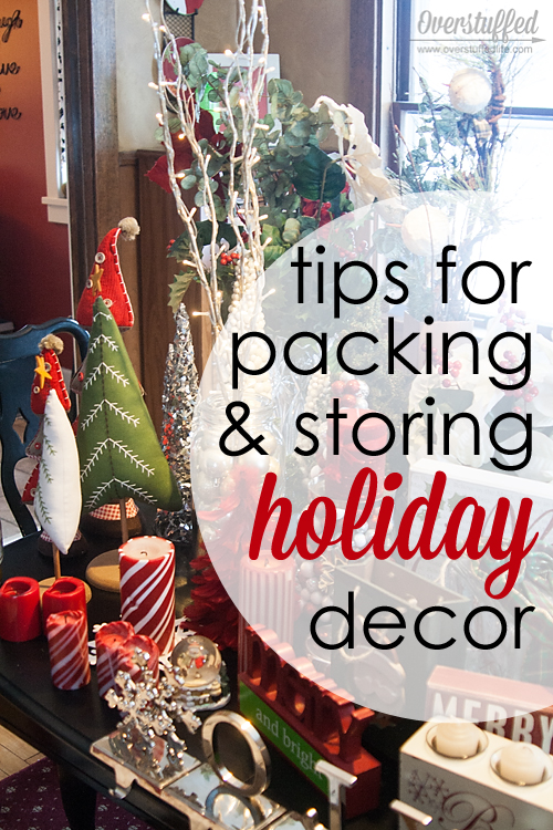Tips for packing up and storing holiday decorations for Christmas decoration stores near me