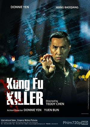 Kungfu Killer 2014 poster