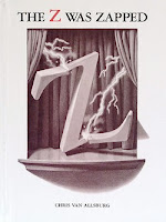 bookcover of Z WAS ZAPPED by Van Allsburg