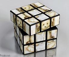Rubik's cube oursonne à collier