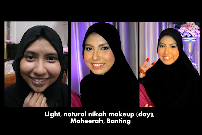 Natural Wedding Makeup in KL