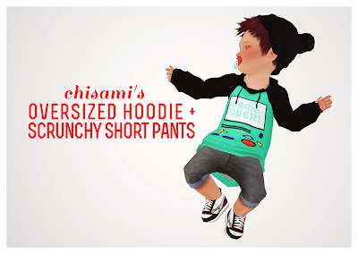 Chisami's Oversized Hoodie & Pants for Toddlers