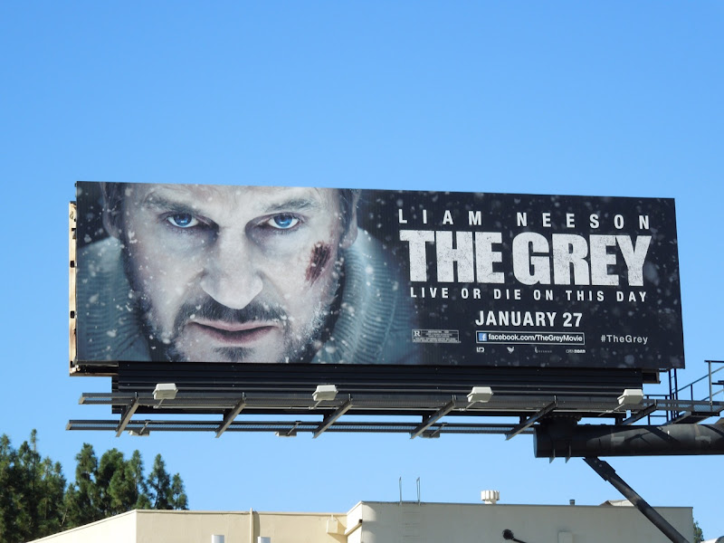 The Grey movie billboard
