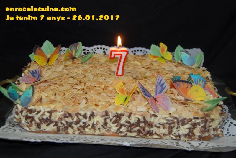 7é..aniversari del blog 26.01.2017