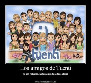 Amigos Tuenti perfil