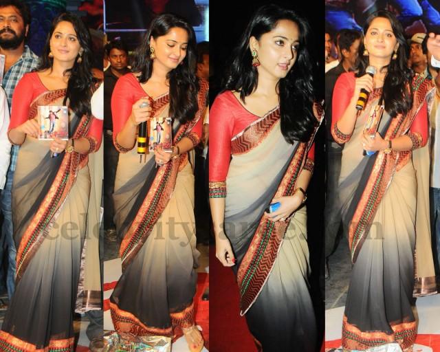 Anushka Shetty Latest Saree 2013
