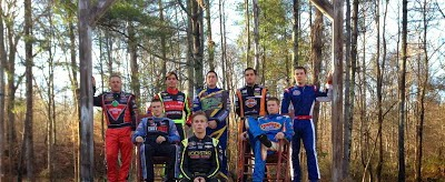 The official 2013 NASCAR Champion's photo shoot was held today at Dale Earnhardt Jr.'s Whiskey River Ranch in Mooresville, N.C.