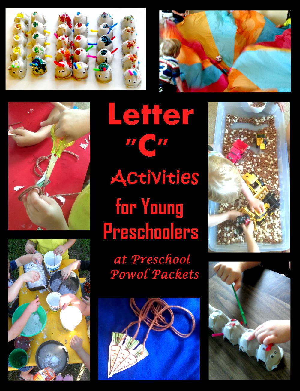 so we of course filled the morning with lots of exciting letter c activities and now im sharing them with you