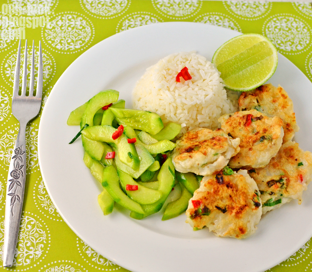 Ooh look fish cakes pickled cucumber birthday wishes for What to serve with fish