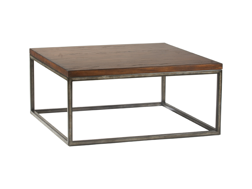 Metal Coffee Table Metal And Wood Square Coffee Table