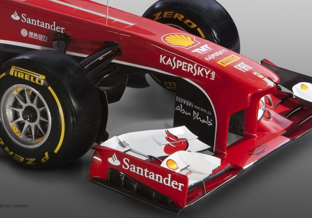 a car 2013 Nova Ferrari F138 Grand Prix
