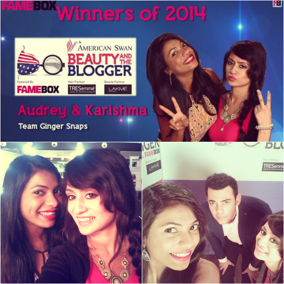 Karishma Rawat Audrey Dsilva Beauty and the blogger winner