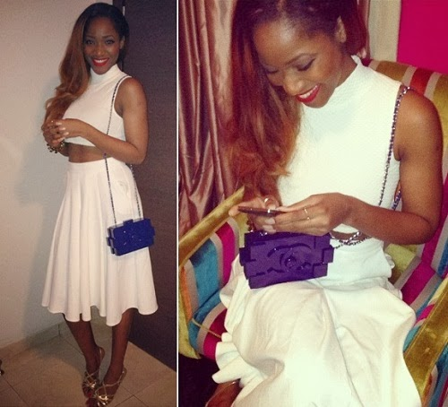 Sylvia Nduka Also Rocks the Chanel Lego Bag.
