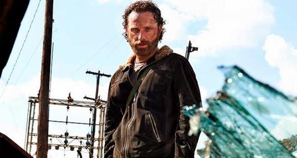 Rick en la quinta temporada de The Walking Dead