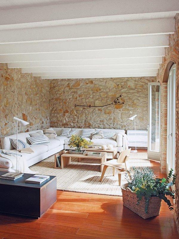 Un'affascinante casa rustica in spagna