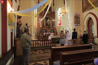 Католическая свадьба в костеле святого Алексея в Ивенце
