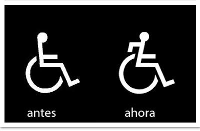pictograma de usuario silla de ruedas pasivo y activo