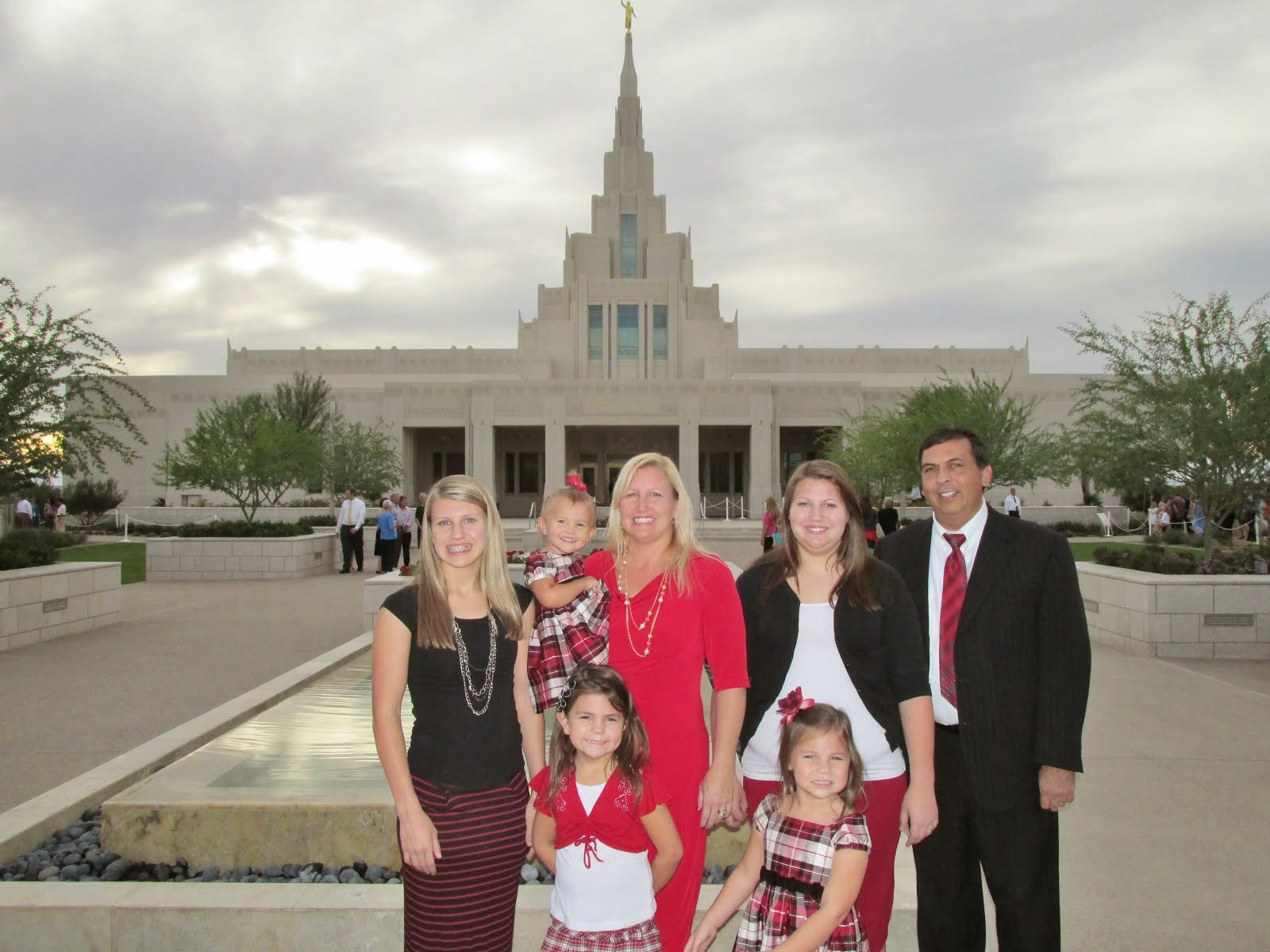 We love the Phoenix Temple!