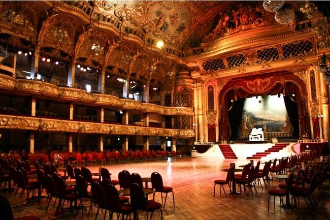 Blackpool Tower Ballroom at The Top Blackpool Tower Ballroom is