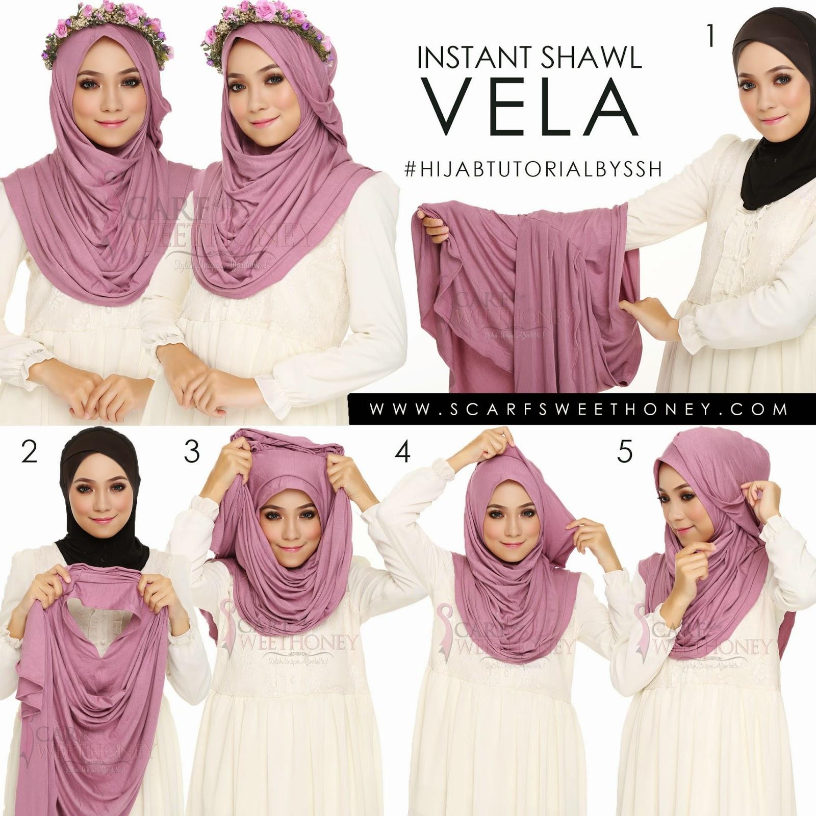 Tutorial Hijab Segi Empat Untuk Jalan Jalan Blog Video Tutorial