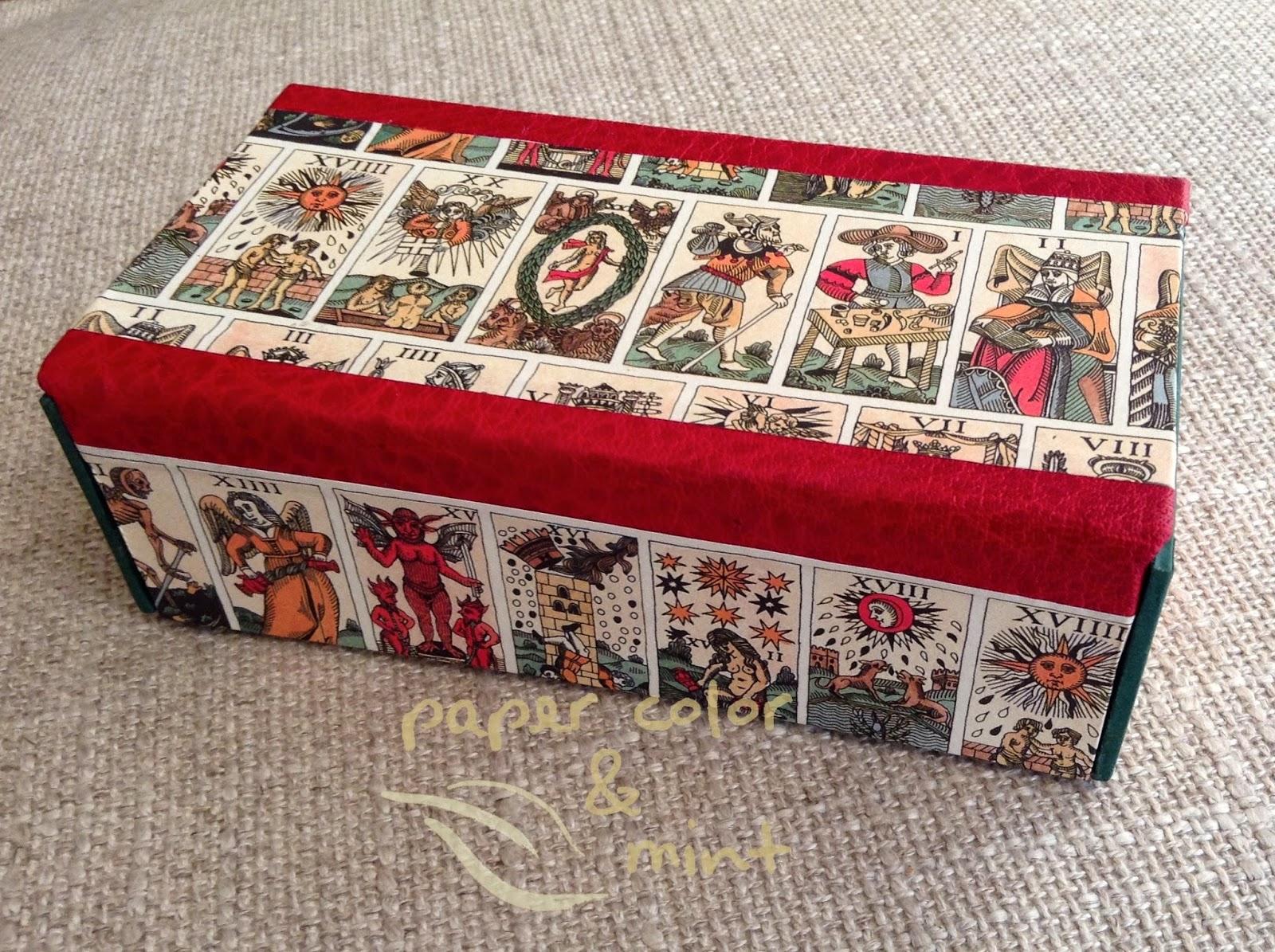 Conjunto Tarot Encuadernación Caja