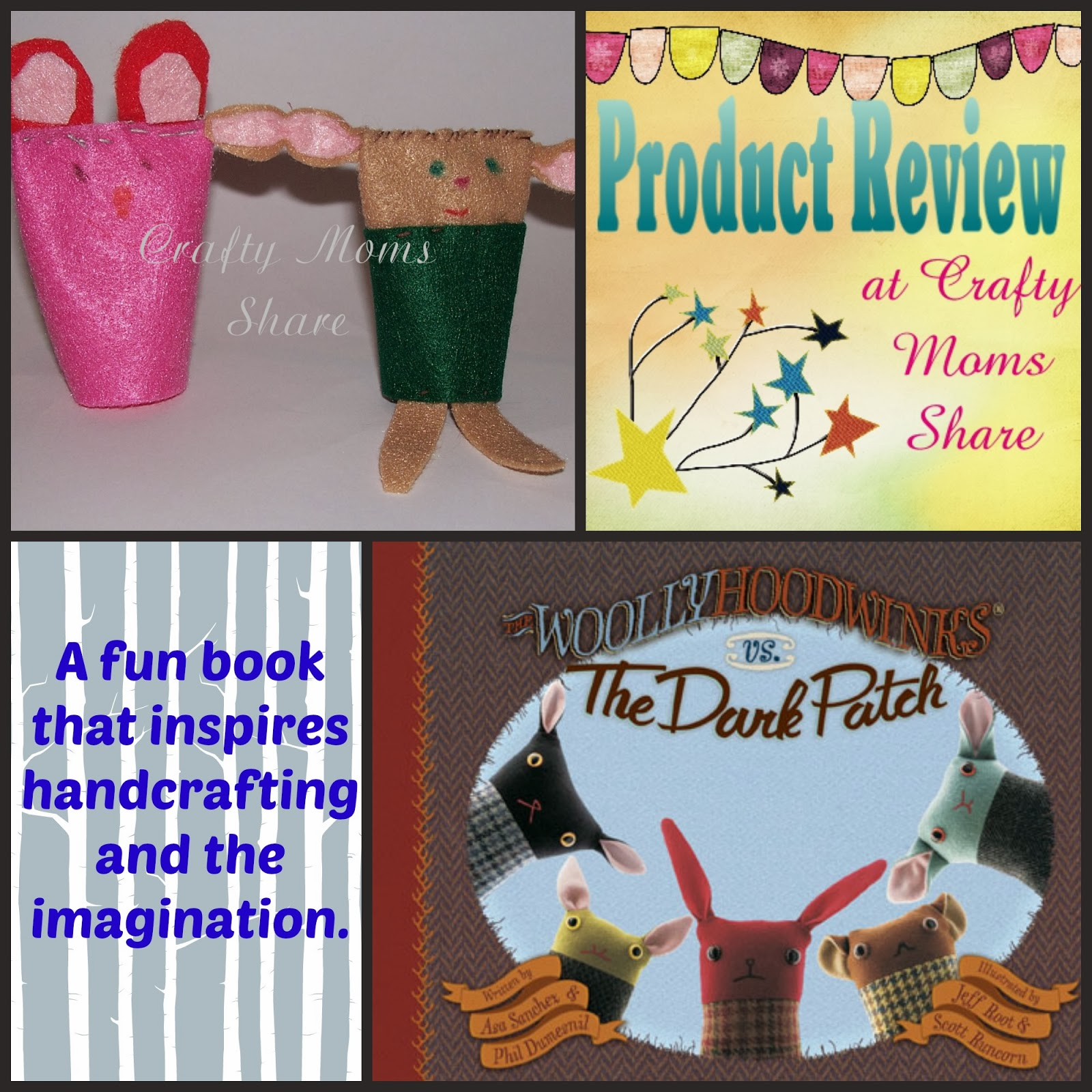 Book Review & Craft The Woollyhoodwinks Vs The Dark Patch