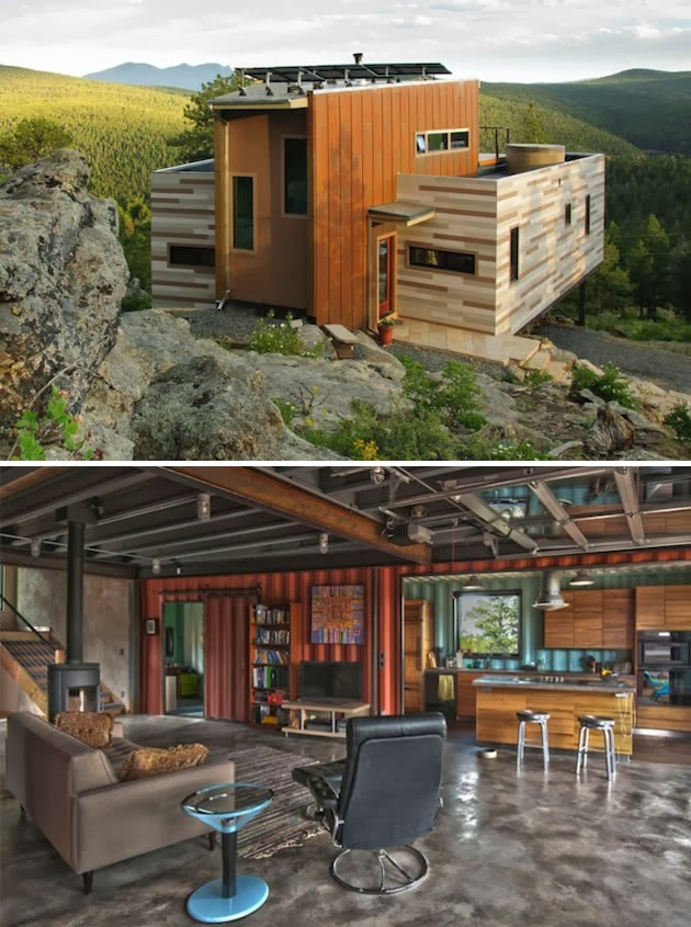 90 miles from tyranny 15 shipping containers turned into designer homes - Turning shipping containers into homes ...