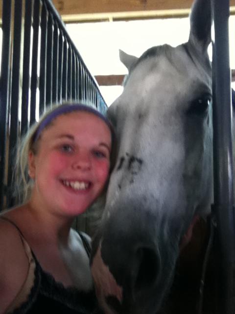 My horse Oreo