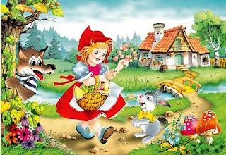 da pige eventyr little red riding hood
