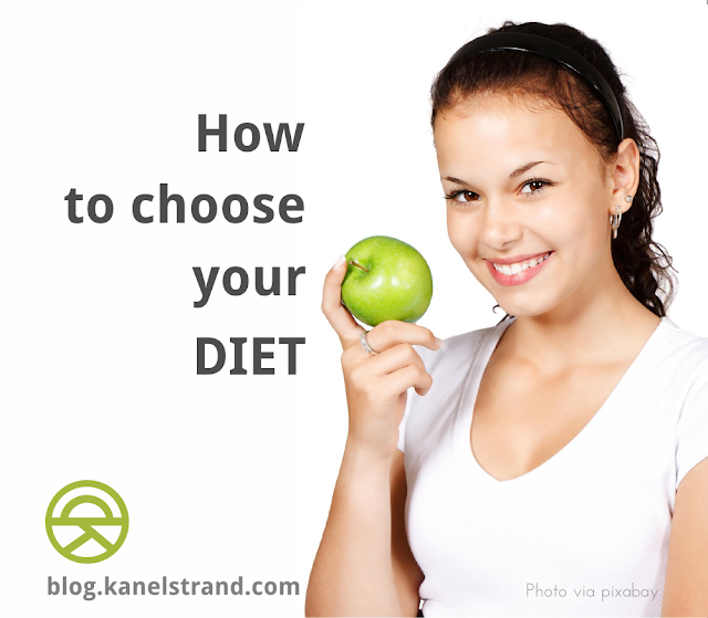 how to chose your diet to best suit your needs