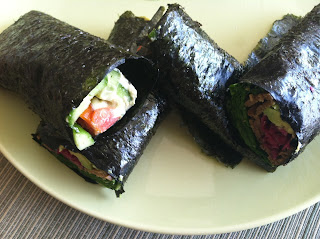 VeegMama recipe for Nori Wraps by Stephanie Dreyer