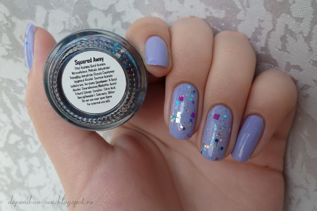KBShimmer Squared away & OPI You're such a Budapest