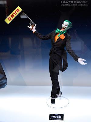 "Medicom RAH Kick-Ass 2 12"" Batman Hush Joker Figure (display image)"