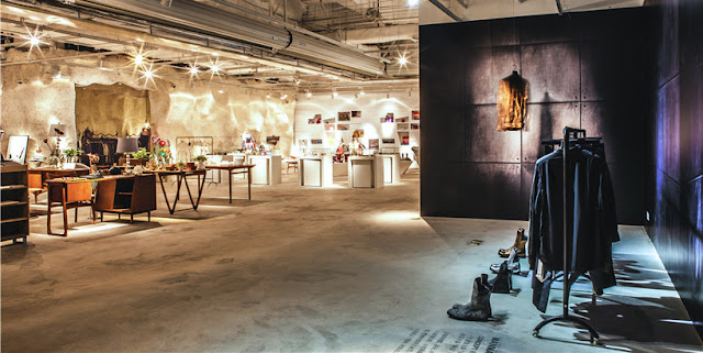 Green Pear Diaries, interiorismo, retail, Flagship store, The Fashion Door, Guangzhou, China