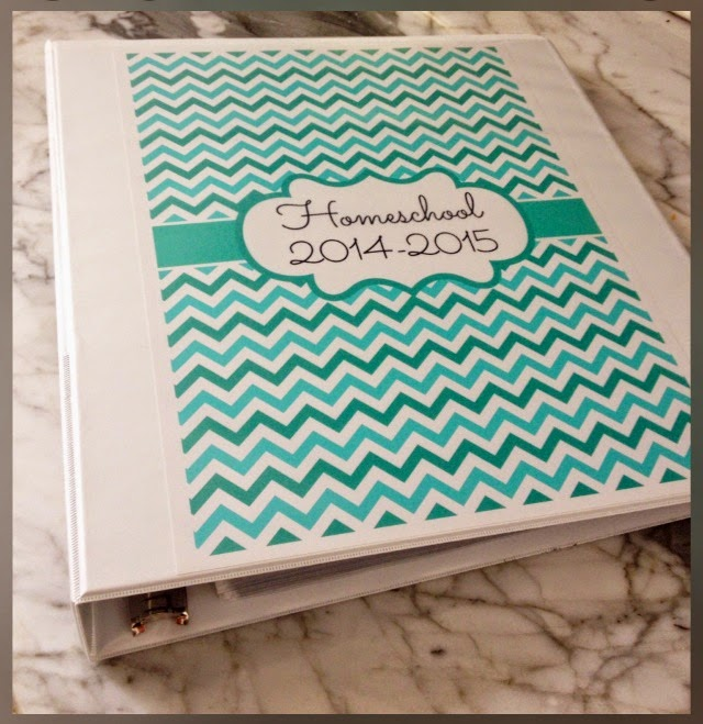Printable School Binder