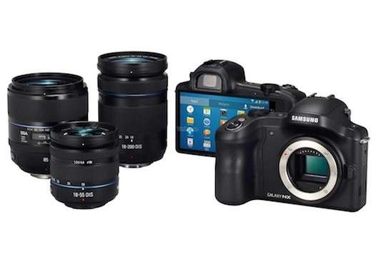 Samsung Galaxy NX Professional Camera to be launched on 20th June, pictured leaked