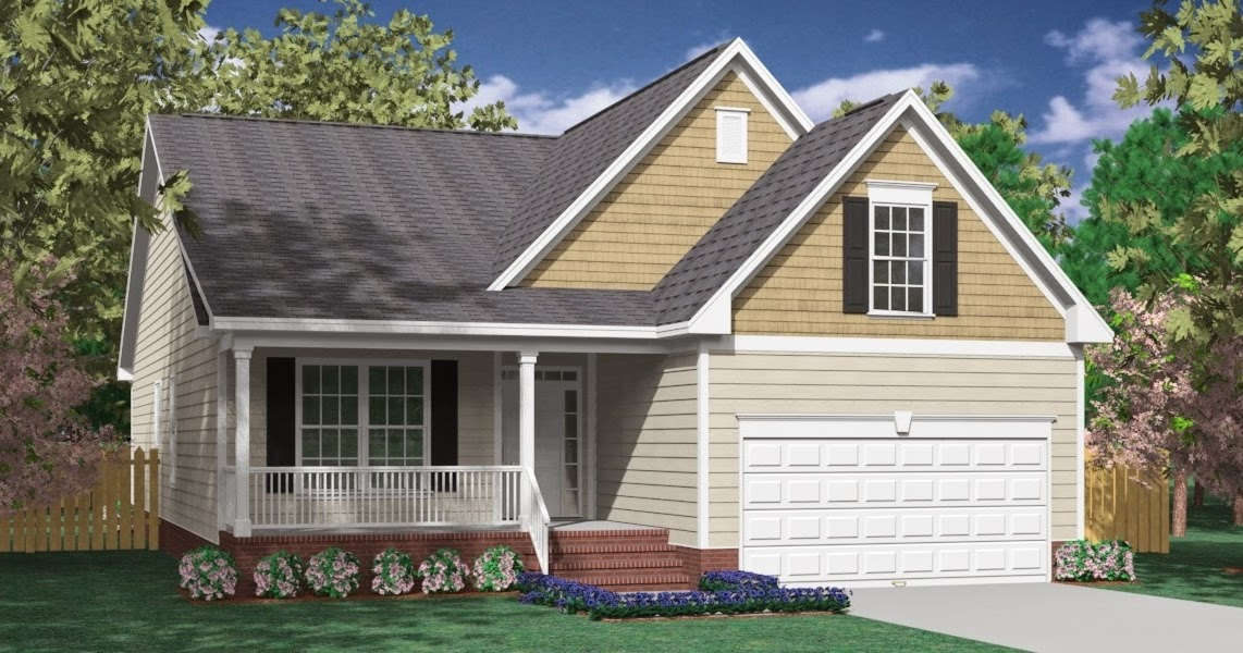 One story house plans with bonus room over garage for Room over garage plans
