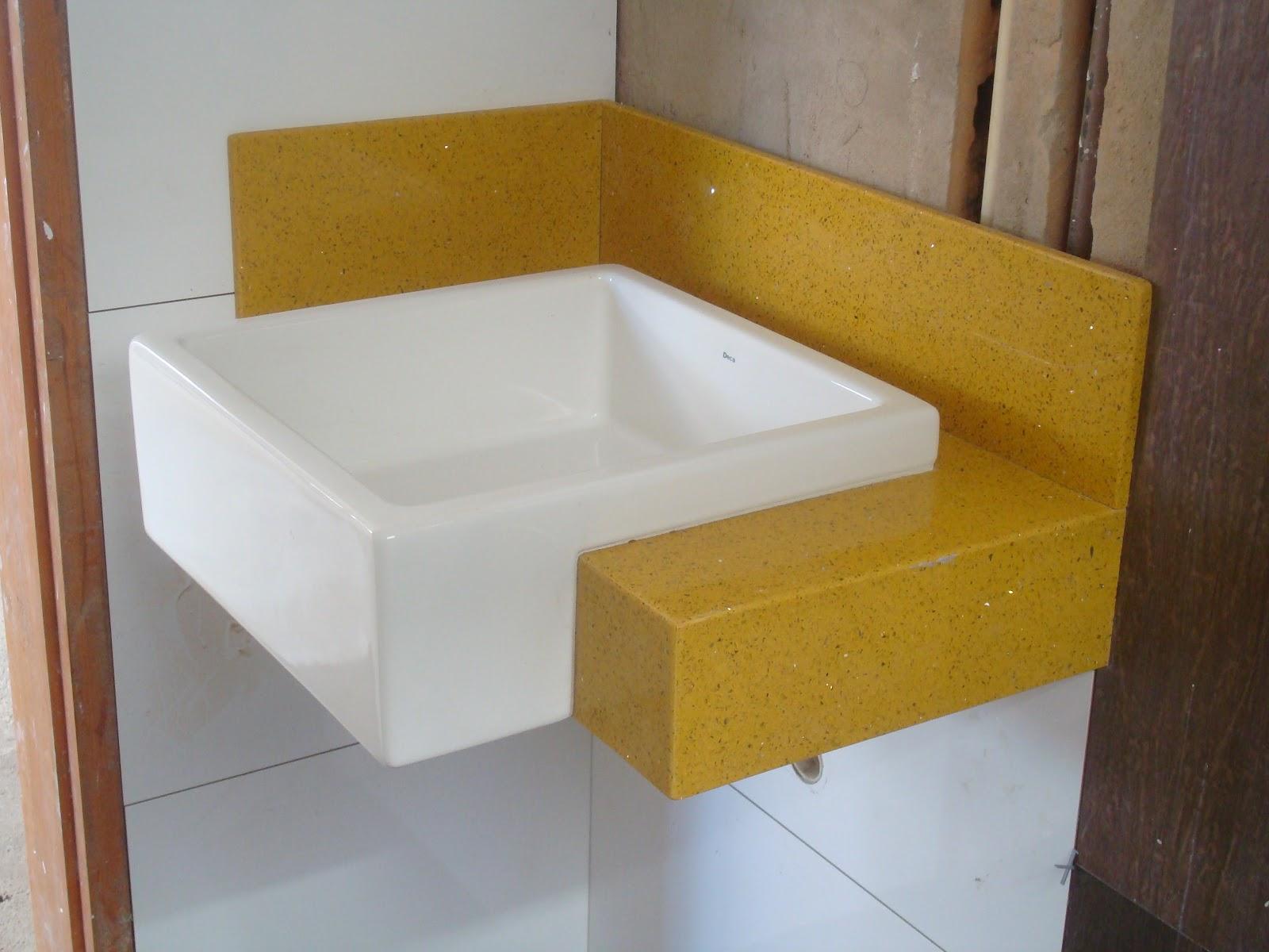 Construindo um Castelinho Qual a diferença entre Silestone, Marmoglass e Nan -> Nicho Banheiro Marmoglass