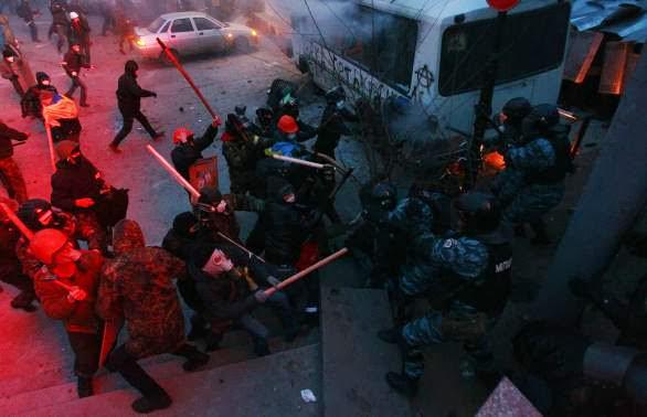 Сблъсъци в Украйна