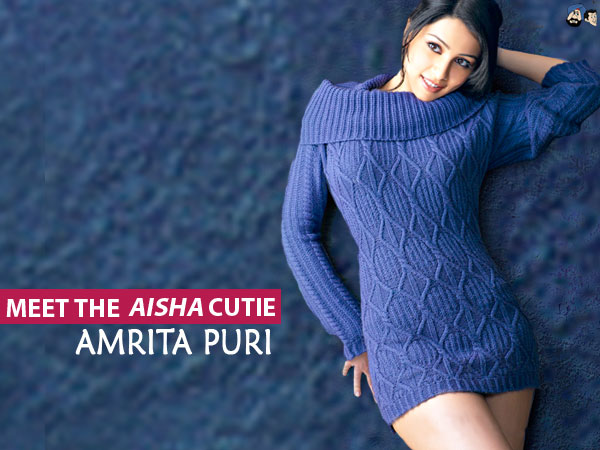 amrita puri hot sweater blue - Amrita Puri Hot