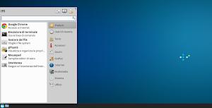 Whisker Menu 1.3.0 in Xubuntu Linux