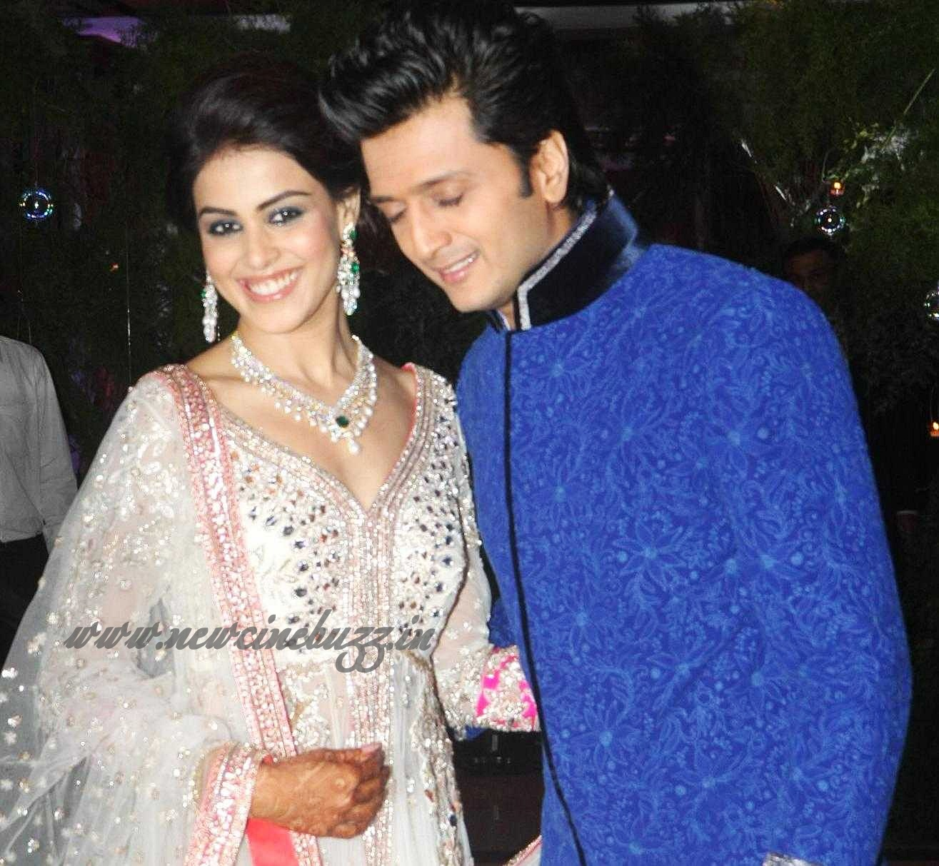 Actress Genelia Amp Riteish Marriage Wedding Photo Gallery