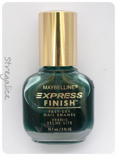 Maybelline Emerald Water sheer vintage discontinued bottle