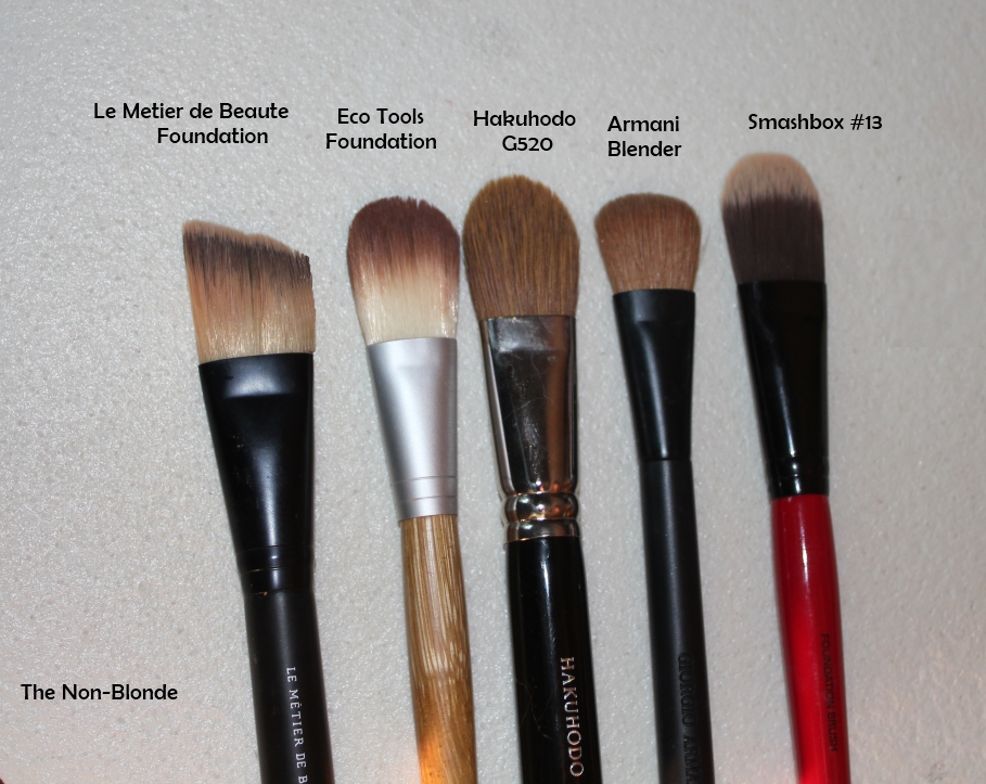 Hakuhodo G520 Foundation Brush The Non Blonde